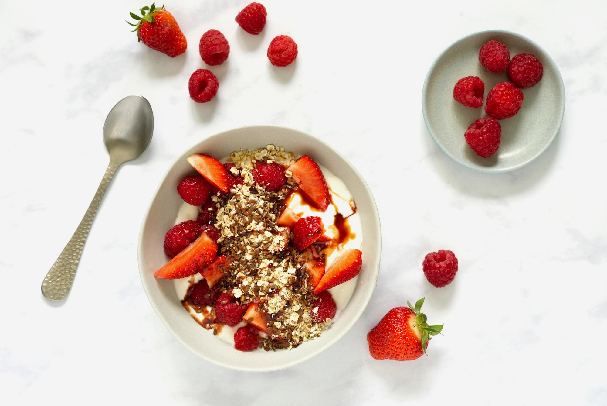 gesund frühstücken mit Haferflocken