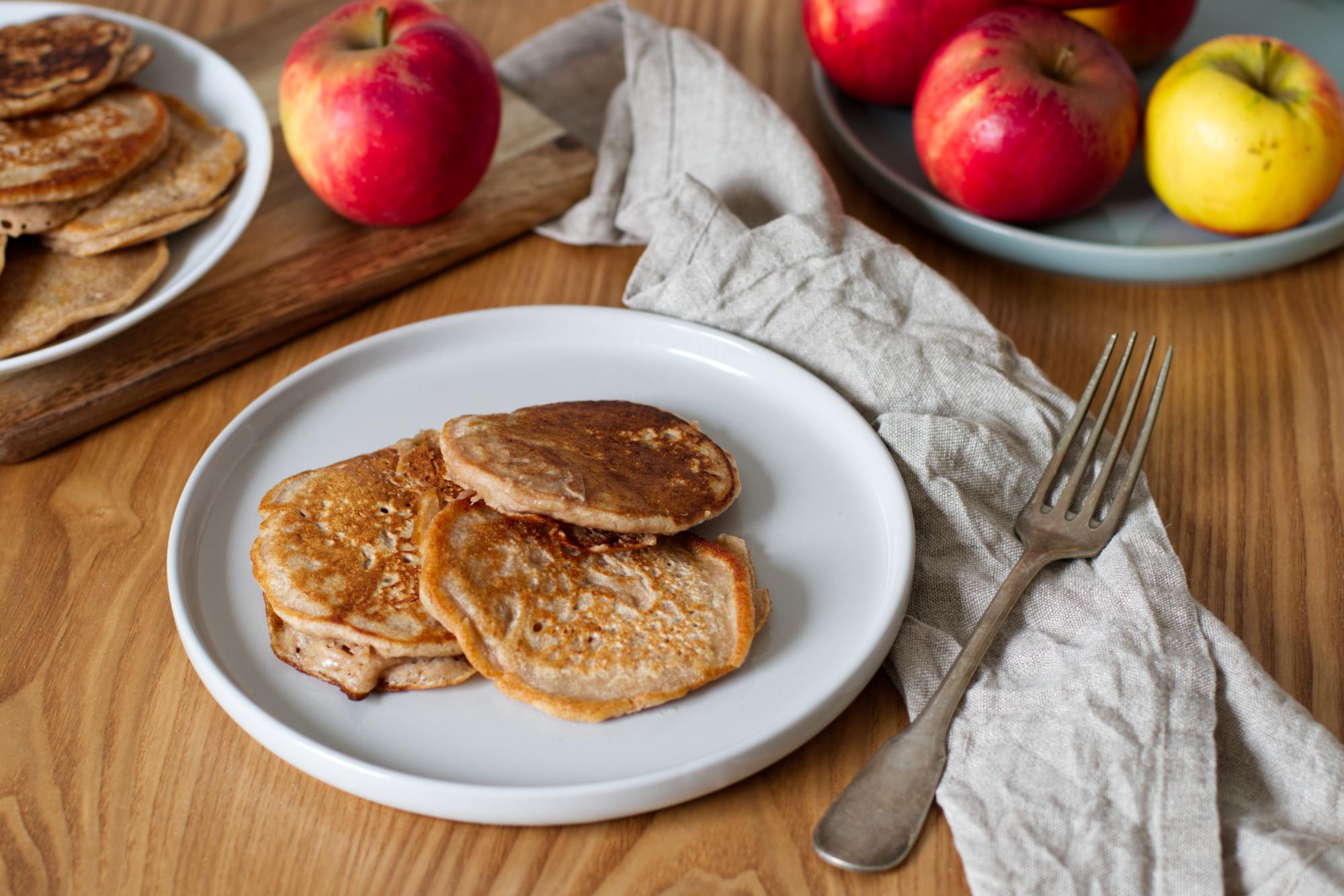 Grundrezept: Vegane Bananen-Pancakes