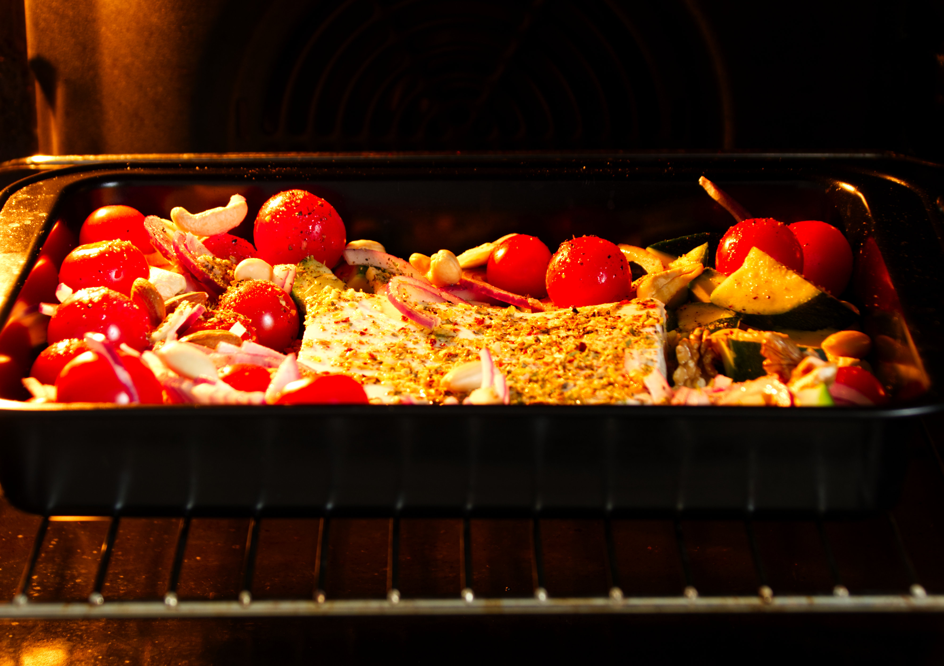 Feta-Pasta aus dem Ofen