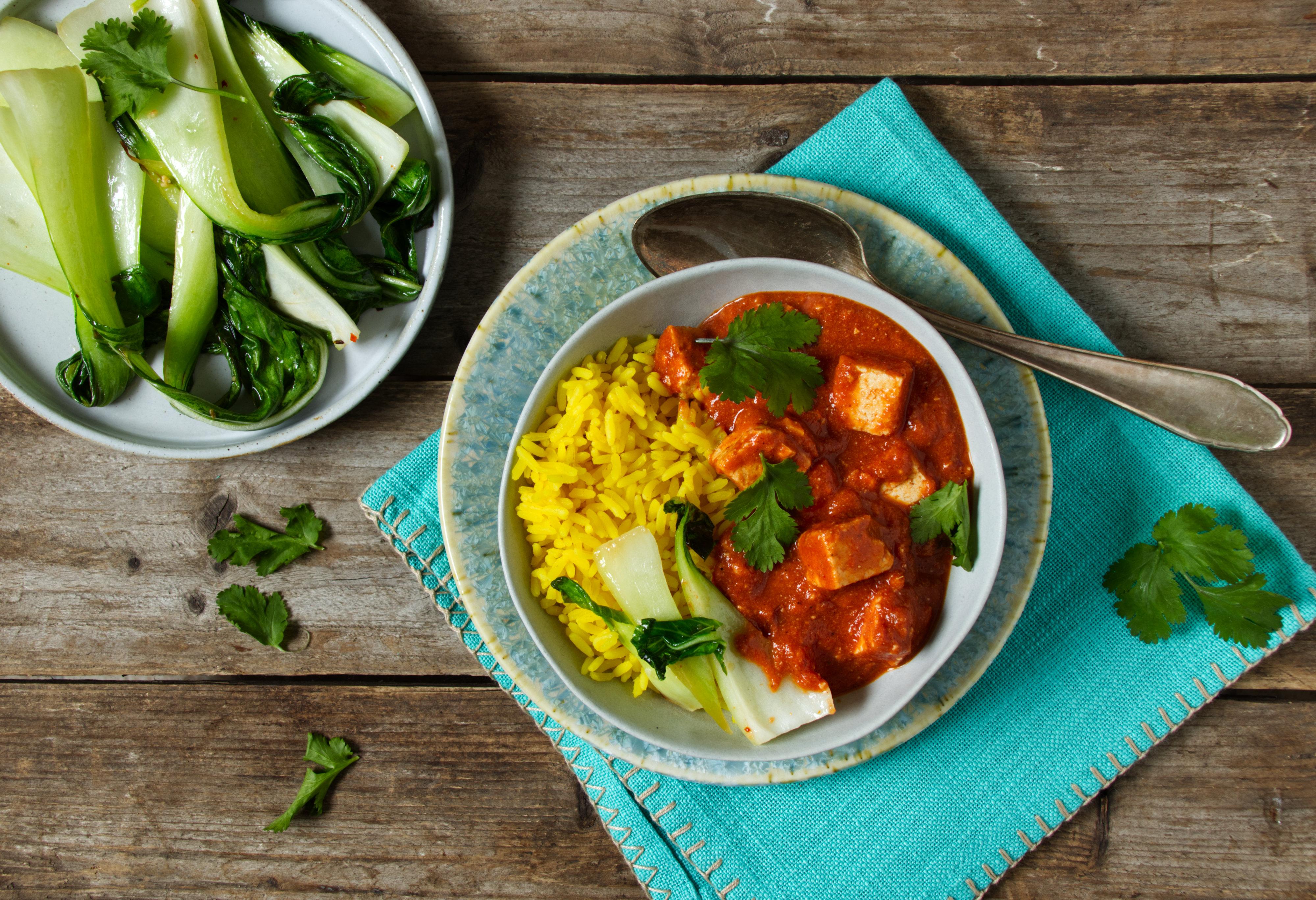 Tofu-Murgh Makhani